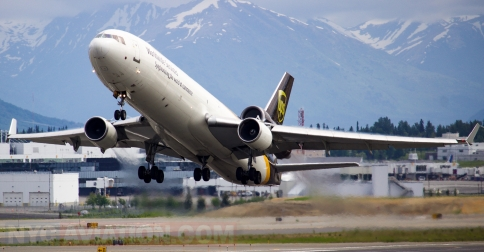 Nycaviation Ups Airlines Mcdonnell Douglas Md 11f N279up