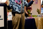 Joe Sprague, VP, Marketing for Alaska Airlines thanks all those in attendance for Alaska Airlines inaugural Bellingham to Honolulu Flight.