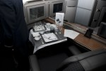 First Class seating on AA's new 777-300ER. (Photo by Tad Carlson)