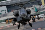 AH-64 Apache. Not the friendliest angle to look at such an aircraft. (Photo by Jeremy Dwyer-Lindgren) (*Judge, not eligible to win)