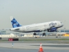 JetBlue touches down on runway 31R