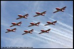 Royal Canadian Air Force Snowbirds in formation. (Photo by Scott Snorteland, srsimages.com)