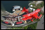 Sean Tucker flies over the Jones Beach Theater. (Photo by Scott Snorteland, srsimages.com)