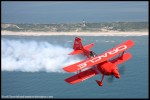 Sean Tucker over Jones Beach. (Photo by Scott Snorteland, srsimages.com)