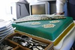 Commemorative cake. (Photo by Chris Sloan/Airchive.com)