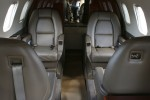 Passenger seating on the Piaggio P.180 Avanti.