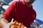 Deep friend cheese curds, a culinary delight found in the heart of Wisconsin.