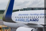 First production Airbus A320 with Sharklets. (Photo by Airbus)