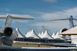 The 2012 Farnborough Airshows Innovation Zone exhibit promotes the wide range of new technologies and research being developed within the aviation industry. (Photo by Airbus)