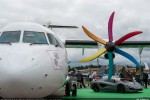 A wide range of aircraft were showcased during the busy third day. (Photo by Airbus)