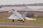 Eurofighter Typhoon takeoff. (Photo by Hammerhead27 via Flickr, CC BY-NC-SA)