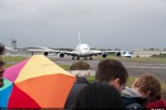 Airbus' A380 demonstrator aircraft was the centre of attention during its Farnborough Airshow flying display. (Photo by Airbus)