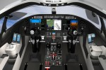 Learjet 85 cockpit.