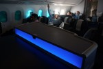 United's 787 has a standup bar in Business First. (Photo by Chris Sloan-Airchive.com)