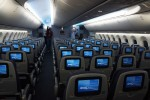 United Boeing 787 Dreamliner Economy cabin. (Photo by Chris Sloan-Airchive.com)