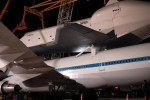 Shuttle Carrier Aircraft and Space Shuttle Enterprise, from another angle. (Photo by Guy Dickinson, CC BY-SA)