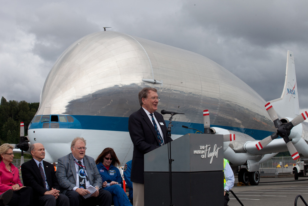 Museum of Flight CEO Doug King. (Photo by Liem Bahneman/NYCAviation)