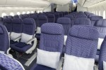 United Airlines Boeing 787 Dreamliner Economy Class seats. (Photo by Dan King/NYCAviation)