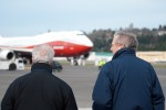 James F. Albaugh, President and Chief Executive Officer, Boeing Commercial Airplanes. (Photo by Tad Carlson)