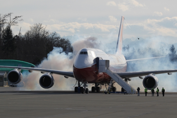 Engine start! (Photo by Brandon Farris)