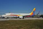 Air Jamaica 737-800 9Y-JMA at FLL. (Photo by David M Knies)