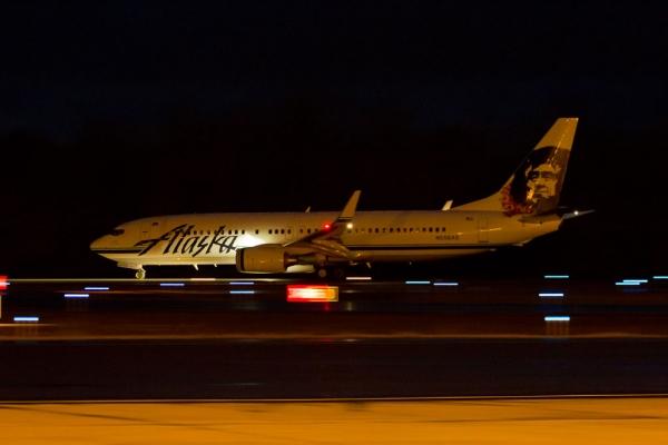 Takeoff roll.