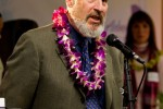 Charlie Sheldon - Executive Director - Port of Bellingham thanks all those in attendance for Alaska Airlines inaugural Bellingham to Honolulu Flight.