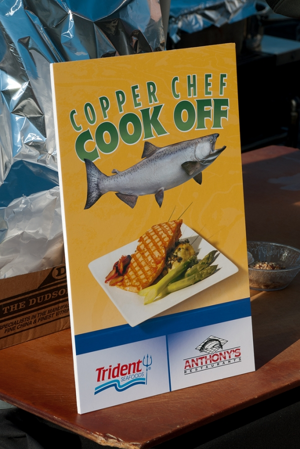 Cook off sign. (Photo by Tad Carlson)