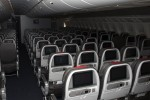 Main cabin seating on AA's new 777-300ER. (Photo by Tad Carlson)