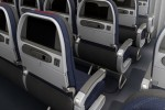 American Airlines Boeing 777-300ER main cabin seats.