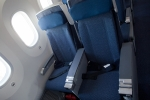 ANA 787 economy class seats.