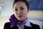 ANA flight attendant Kyoko Kouokawa.