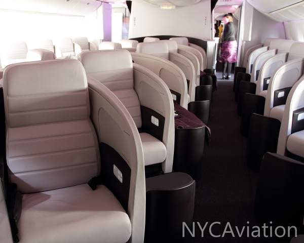 Business Premier class seats