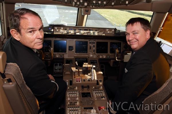 Pilot & David Wilson pose