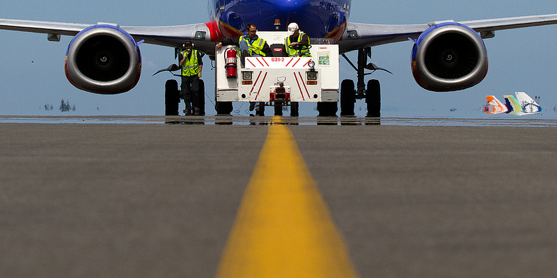 Southwest 737 taxiing. (Photo by Jeremy Dwyer-Lindgren) (*Judge, not eligible to win)