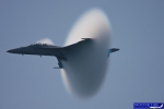 F-18 Sound Barrier vapor. (Photo by John Musolino)