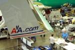 American Airlines 737-800 winglet closeup. (Photo by Matt Molnar)