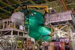 The 1,001st 767 under construction. It, too, will be delivered to ANA.