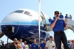787 head test pilot Mike Carriker introduces the plane to EAA for the first time.