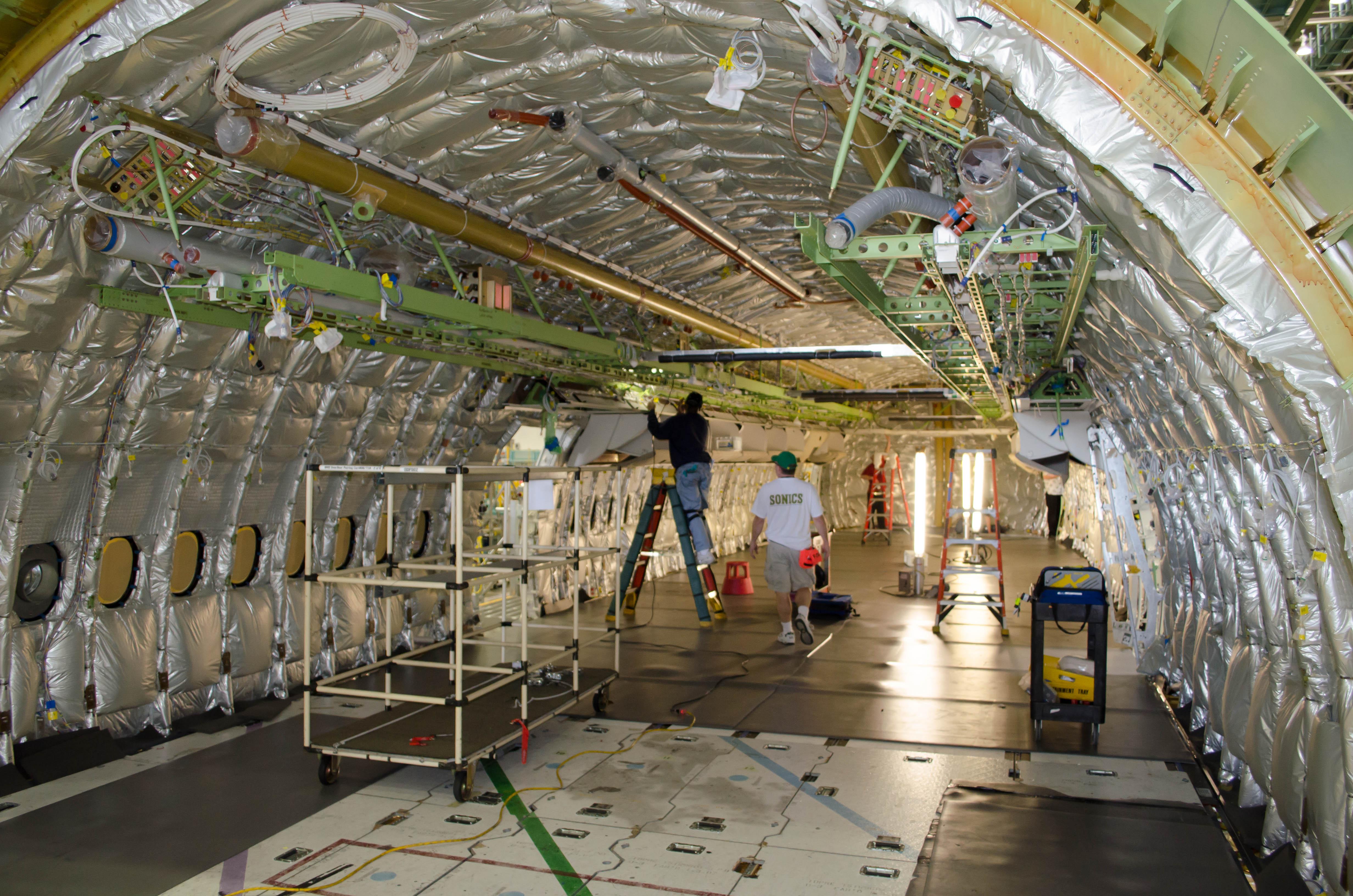 Boeing Everett 777 Production Line Tournycaviation