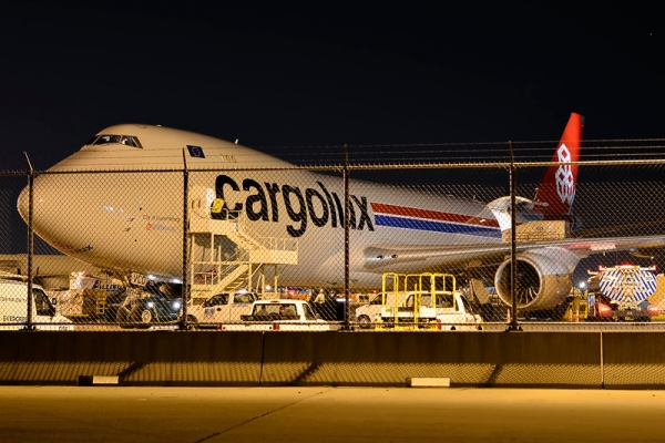 Cargolux 747-8F (LX-VCD) at JFK. (Photo by Zee71)