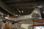 A Cathay Pacific Douglas DC-3 (VR-HDB) displayed in the Hong Kong Science Museum.