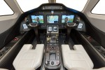 Cessna Citation Latitude cockpit. (Rendering by Cessna)
