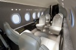 Forward aft view inside the Cessna Citation Latitude. (Rendering by Cessna)