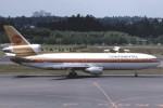 A DC-10 (N68042) taxis at Tokyo-Narita.