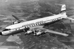 Continental DC-7B enroute from Chicago to Los Angeles, July 1958.