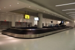 A new baggage claim area on the east side of Terminal 4 featuring two additional carousels is already in service.