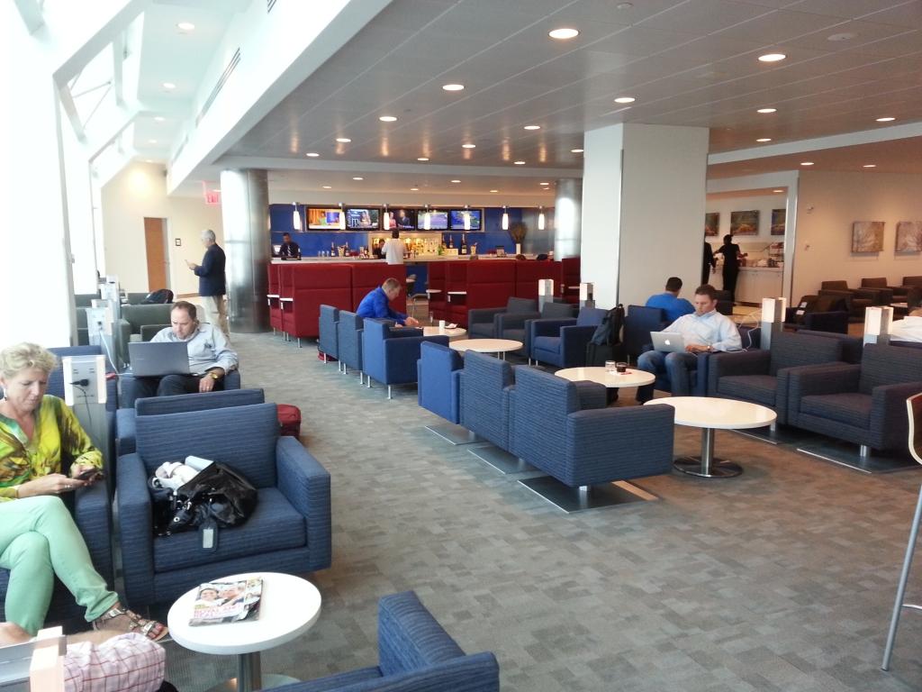 Delta Sky Club Unveiling At Lga S Terminal C