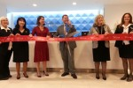 Ribbon cutting of the new Sky Club.