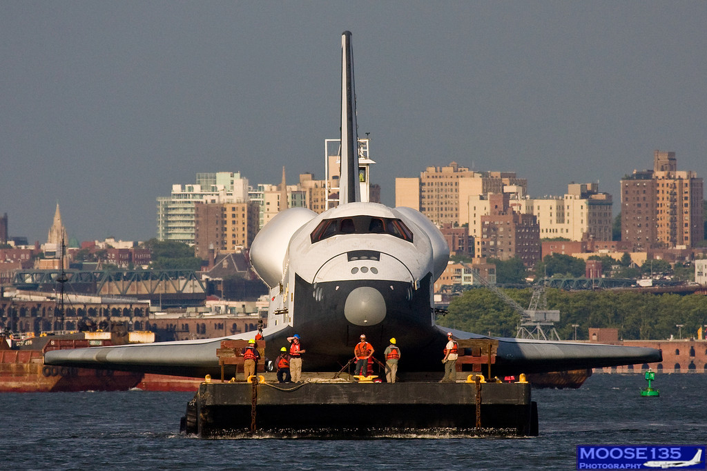 Space Shuttle New York Harbor - Pics about space